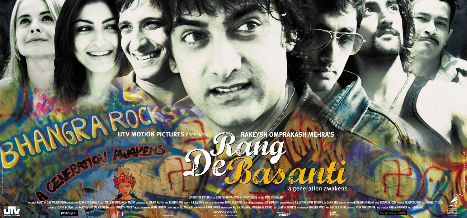 rang de basanti - MHT India - podcast - psychological perspective of rang de basanti